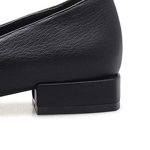 Compensées Noir EU Femme Sandales Noir AdeeSu SDC05776 36 5 BqEFzx