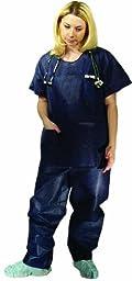 Dukal Scrubwear Pants, Blue, Extra Large, Non-Sterile, 10/bg 5bg/cs 5 pcs sku# 1303991MA