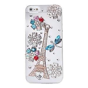 mofy Joyer'a de la flor libŽlula cubierta de nuevo caso para el iPhone 5/5S