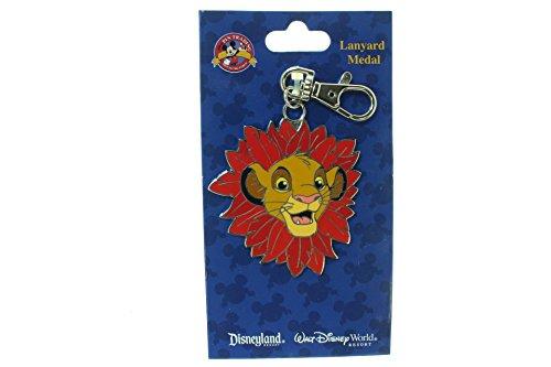 Disney Simba With Wild Mane Lanyard Medal ()