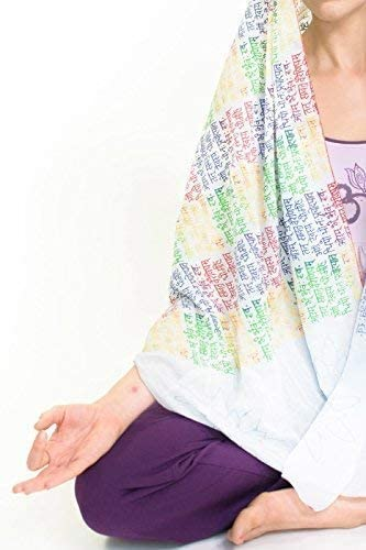 Yogamasti Yoga Scarf-Wrap-Meditation-gayatri Mantra