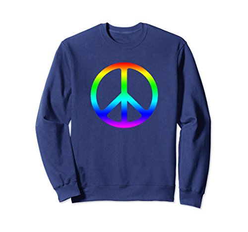 Peace Sign Kids Sweatshirt - 6