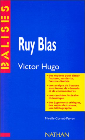 Ruy Blas, Victor Hugo--