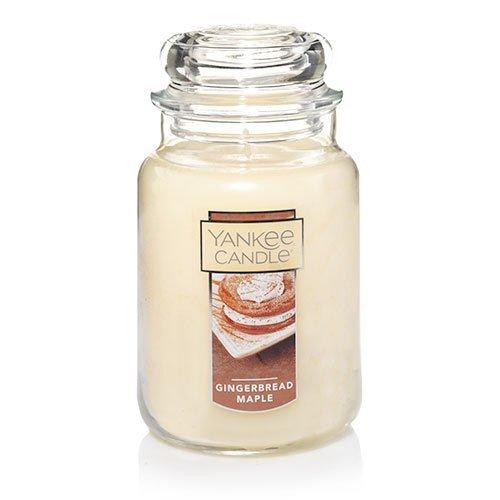 【代引き不可】 Yankee Candle Jar Gingerbread Maple Large Jar Large Candle、Festive香り Candle B07825FM2V, BRIGHTEST:ef6514f2 --- egreensolutions.ca