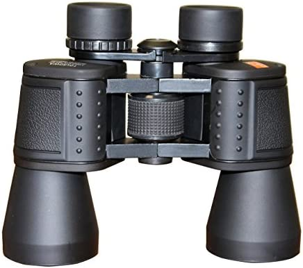 Binger 10 x 50 Long Eye Relief Porro Prism Binoculars BK 7 Prism High Definition Fully Coat Large Focus Wheel Fast Focus