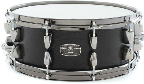 Yamaha LNS-1455BKW 14-Inch Live Custom Snare Drum, Black (Yamaha Snare)