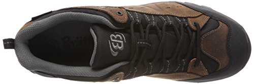 Hiking L Braun Shoes Rise Adults' Bruetting Unisex Low Classic Braun Mount Blue Bona wzPUw8nSIq