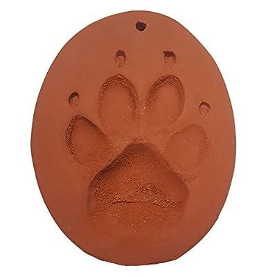 Claypaws Paw Print Kit Terra Cotta Clay: Toys & Games