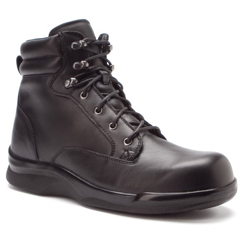 Apex Mens 6 Ambulator Biomekanisk Spets Boot Svart