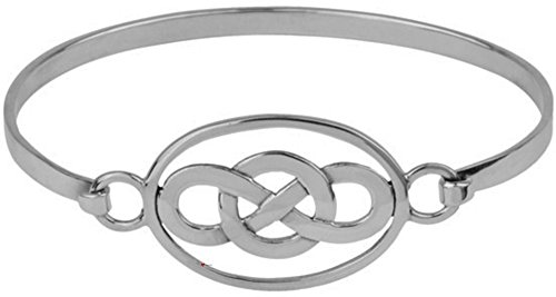 Celtic bracelet argenté ovale Knot