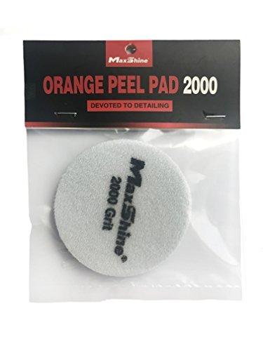 Maxshine Black Denim_Nrange Peel Removal Pad 2000-1PC por paquete (Dia: 80mm)