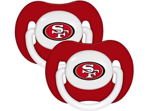 最安値挑戦! NFL Football Football 2014 B00EAIT2OS 赤ちゃん幼児おしゃぶり 2個入り San - チームを選んでください San Francisco 49ers - Solid B00EAIT2OS, 三川村:54f8fc6c --- a0267596.xsph.ru