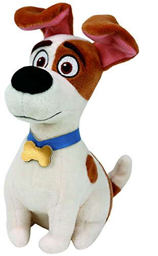 - Ty Beanie Babies Secret Life of Pets Max The Dog Regular Plush