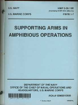 Supporting Arms in Amphibious Operations (Ring Amphibious)