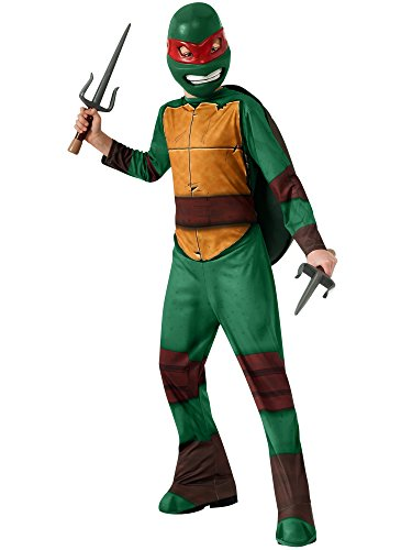 Rubies Kids Raphael Teenage Mutant Ninja Turtles Halloween Costume