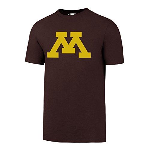 OTS NCAA Minnesota Golden Gophers Men's Rival Tee, Large, Dark (Minnesota Golden Gophers Apparel)