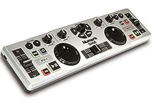 Numark DJ to GO - Controlador DJ USB compacto, ligero y ultra portátil con software Virtual DJ LE