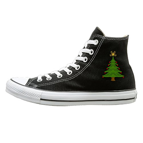Tide House Merry Christmas Tree Cool Trainers Shoes 39 (Space Jam Costumes)
