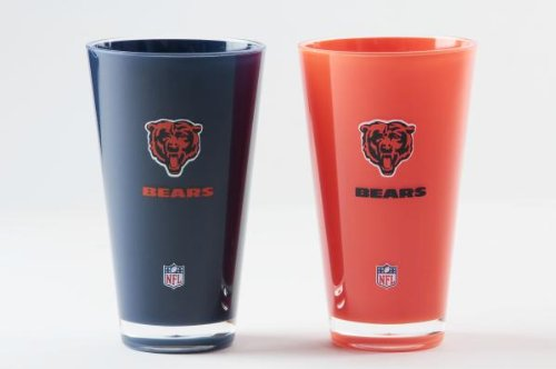 Chicago Bears Tumblers - Set of 2 (20 - Malls Chicago Outlet