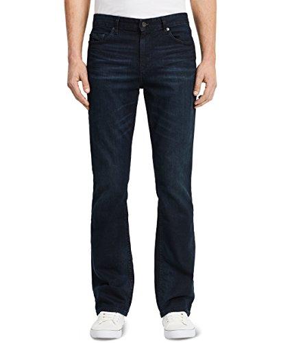 Calvin Klein Blue Denim (Calvin Klein Jeans Men's Modern Boot Denim, Osaka Blue, 34Wx34L)