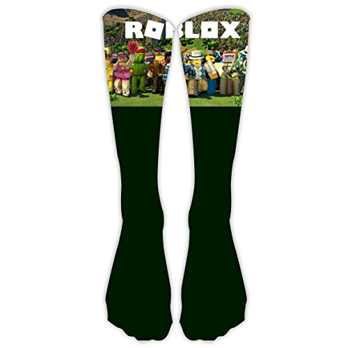 R Roblox-Team Xmas Unisex Family High Knee Stocking 3D Printed Long Sock