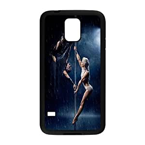 Unique Design -ZE-MIN PHONE CASE- For Samsung Galaxy S5 -Pole Fitness Dancing-CUSTOM-DESIGH 1