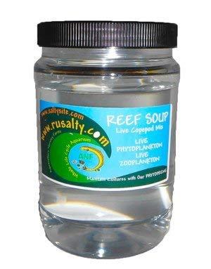 AQUACULTURE NURSERY FARMS Copepods 16 oz. Live Copepods 5,000 Pods Reef Soup. 6 Types Tisbe Tigger Acartia Pseudo Parvo Apocyclops