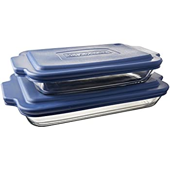 Anchor Hocking Oven Basics 6-Piece Bake-N-Take Bakeware Set