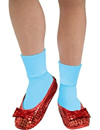Costume Wizard Of Oz Deluxe Adult Dorothy Sequin Shoe Covers