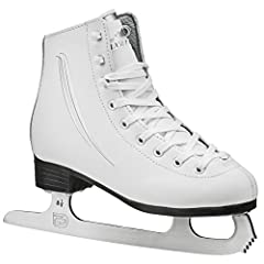 Fly over the ice in the Lake Placid Cascade girl's figure ice skate. The Lake Placid Cascade girl's figure ice skate offers a reinforced ANKLE and a waterproof sole, so you can spend hours on the ice in comfort and balance.