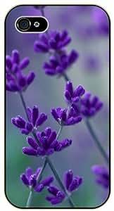 Purple bluebonets - iPhone 4 / 4s black plastic case / Flowers and Nature, floral, flower