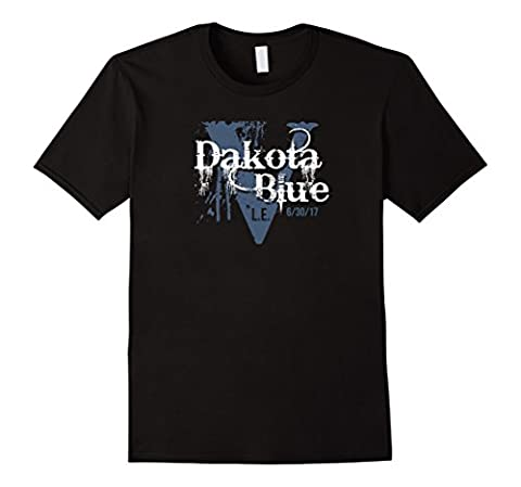 Mens Dakota Blue Limited Edition Album Release T Shirt 2XL Black (Ltd Albums)