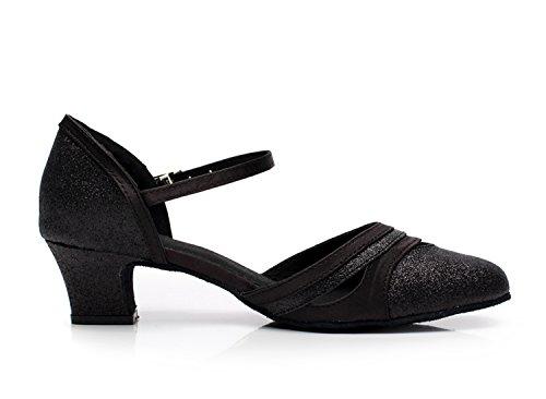 Minitoo ,  Damen Tanzschuhe , Schwarz - schwarz - Größe: 36