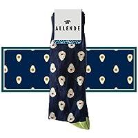Allende 🇲🇽 | Par de Calcetines de diseño 'Aguacates' artesanal 🥑, unisex maquilado en Puebla