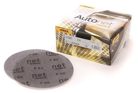 "Mirka Autonet Abranet 3/"" 180 Grit 50 Discs per Box"