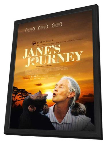 Jane's Journey 11 x 17 Movie Poster - UK Style A - in Deluxe Wood Frame