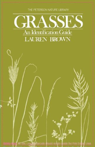 Grasses: An Identification Guide (Peterson Nature Series), 1st Edition