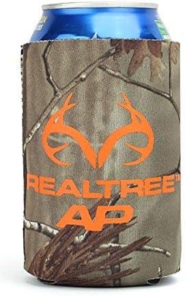 AES OPTICS Realtree Camo Horn Logo Can