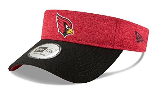 Cardinal Visor - New Era Arizona Cardinals NFL 2018 Official Sideline Performance Visor
