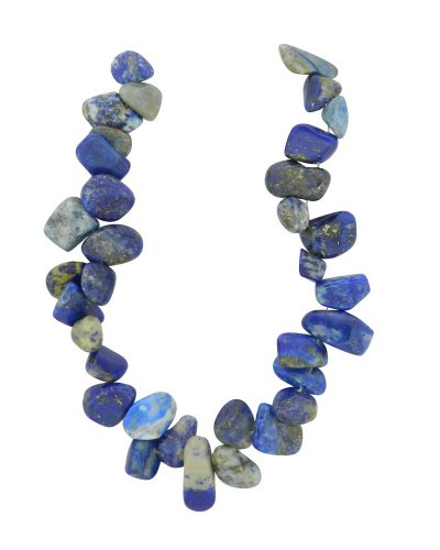 Semi Precious Nuggets (Tennessee Crafts 1574 Semi Precious Blue Lapis Tear Drop Nuggets)