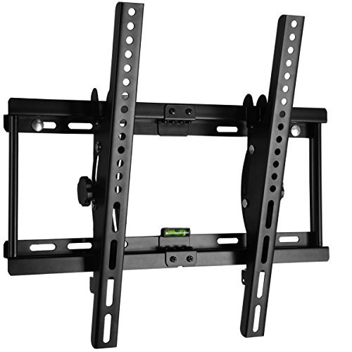 happyjoy 15 tilting tv wall mount bracket for 23 55 inch samsung sony lg vizi. Black Bedroom Furniture Sets. Home Design Ideas