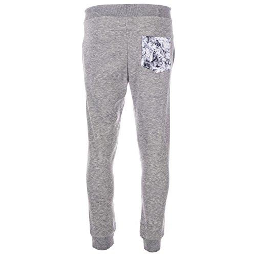 Beck and Hersey Boy's Sub Marble Jog Pants Marl 10-12 Grey