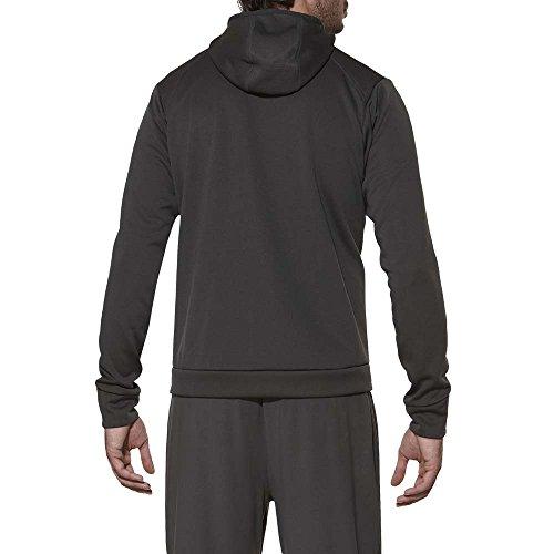 Hombres oscuro de los Asics gris Chaqueta X1atwt