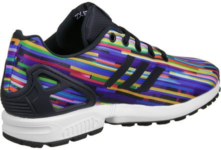adidas ZX Flux K W Calzado Glitch Graphic