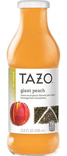 Tazo, Giant Peach, 13.8 Oz (Pack of 12)