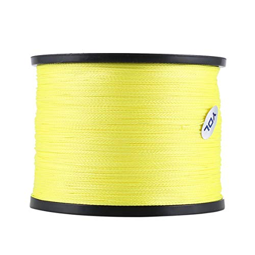 Smartlove1P 1000 Meters Super Strong PE Multifilament Braided Fishing Line PE Fishing line, Strong Horse Shark line Braided Fishing line