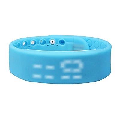 Fitness Tracker Wristband, Wireless Activity Tracker Sleep Monitor with Pedometer Waterproof Bluetooth/USB Smart Bracelet