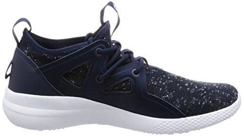 Blu Bleu Cardio White Motion Sneaker Femme Navy Basses Collegiate Reebok WpUw7Yqp