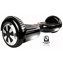 Gyrocopters L1 - Hoverboard UL2272 Black certified with Bluetooth speaker.