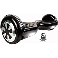 Gyrocopters Pro 2.0 - Hoverboard UL2272 Black Certified with with GPS, APP, Bluetooth, Speakers, no Fall Technology and LED Lights